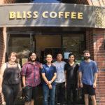De Bliss, les Roasters de café rouge et géant se lèvent à Redwood City