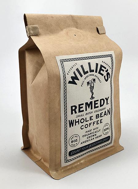Café au CBD de Willie's Remedy