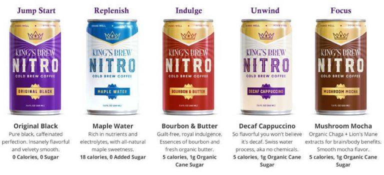 King's Row Coffee présente la ligne de café à base de café nitro