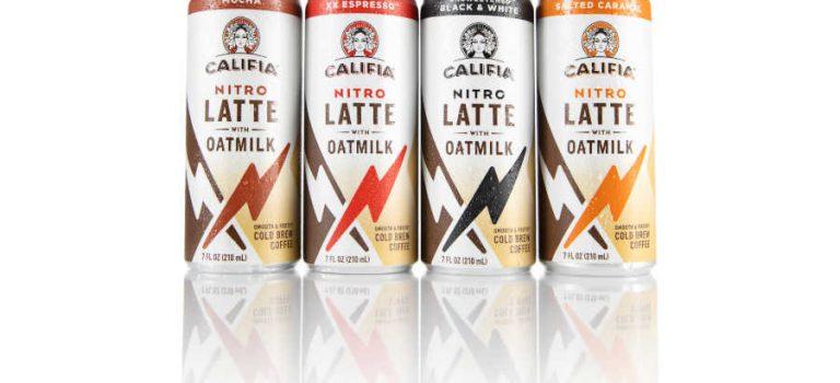 Califia Farms étend son lait de traite d'avoine à son lait de trait au nitro