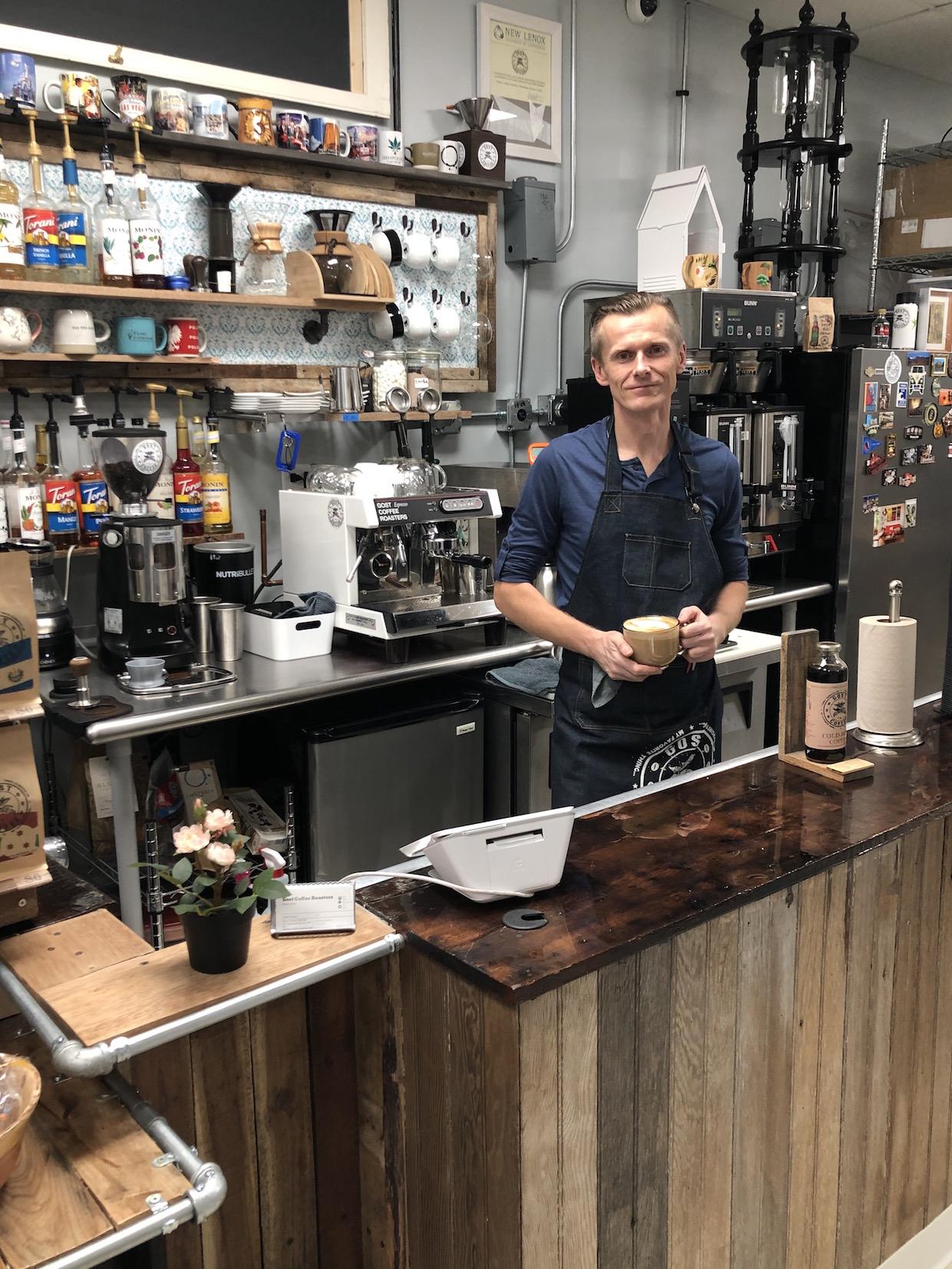 Bar à café Gost