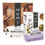 Numi lance deux nouvelles boissons, des emballages à base de plantes