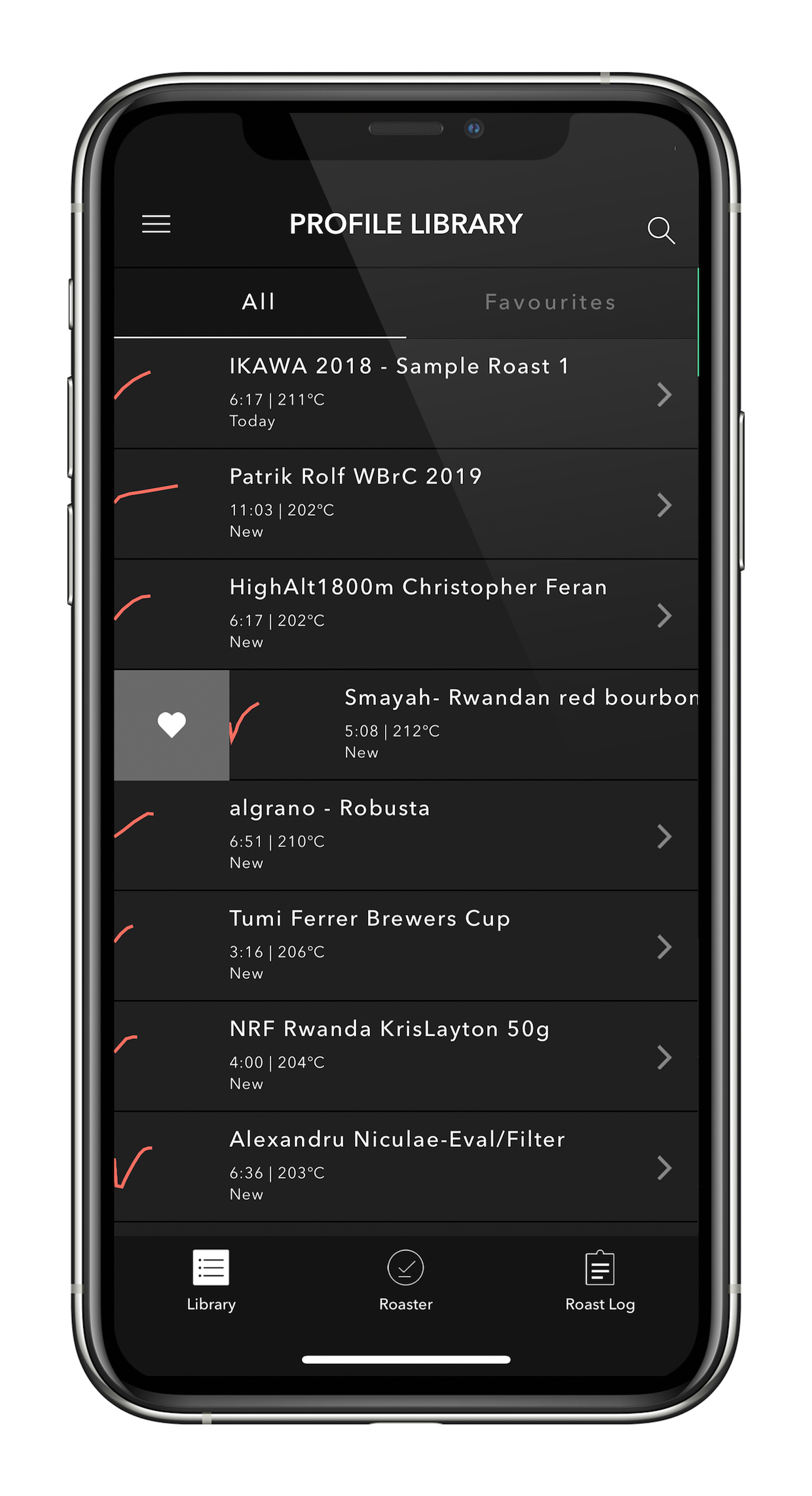 Mise à jour de l'application Ikawa 3.0