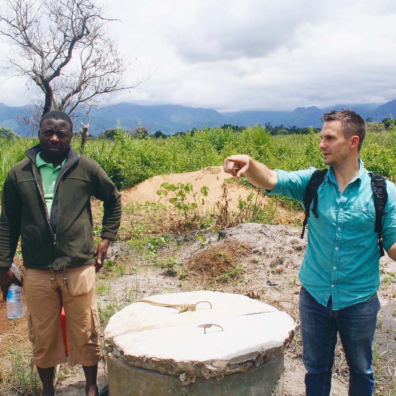 Jeff Abella et Moka Origins Farm Manager, Ngong Edwin
