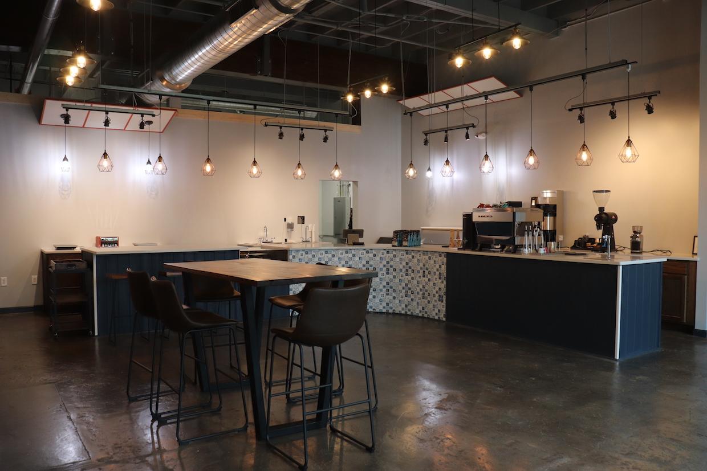 Bar à café déverrouillé