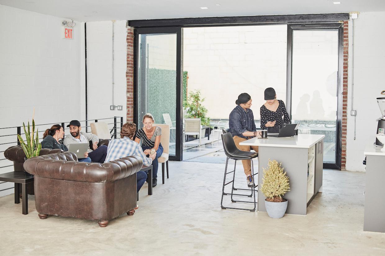 espace bureau café