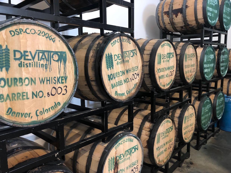 fûts de bourbon
