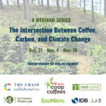 Café, carbone et changement climatique au centre d'une nouvelle série de webinaires